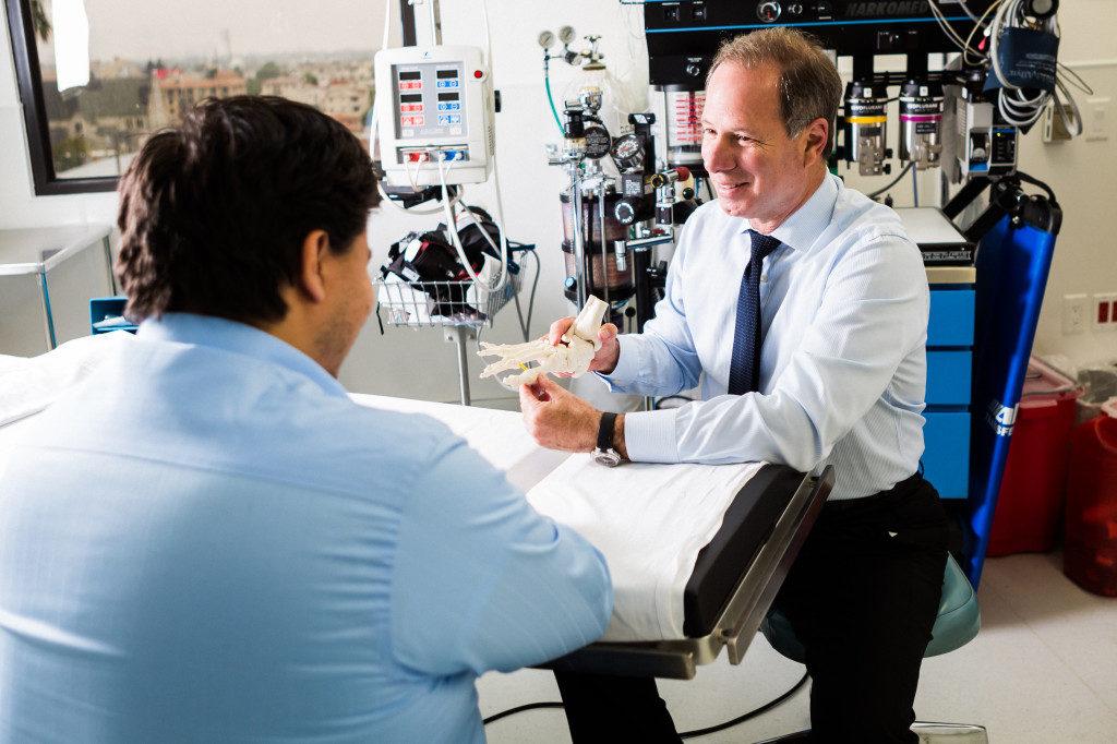 Foot Specialist Doctor Paul Brody
