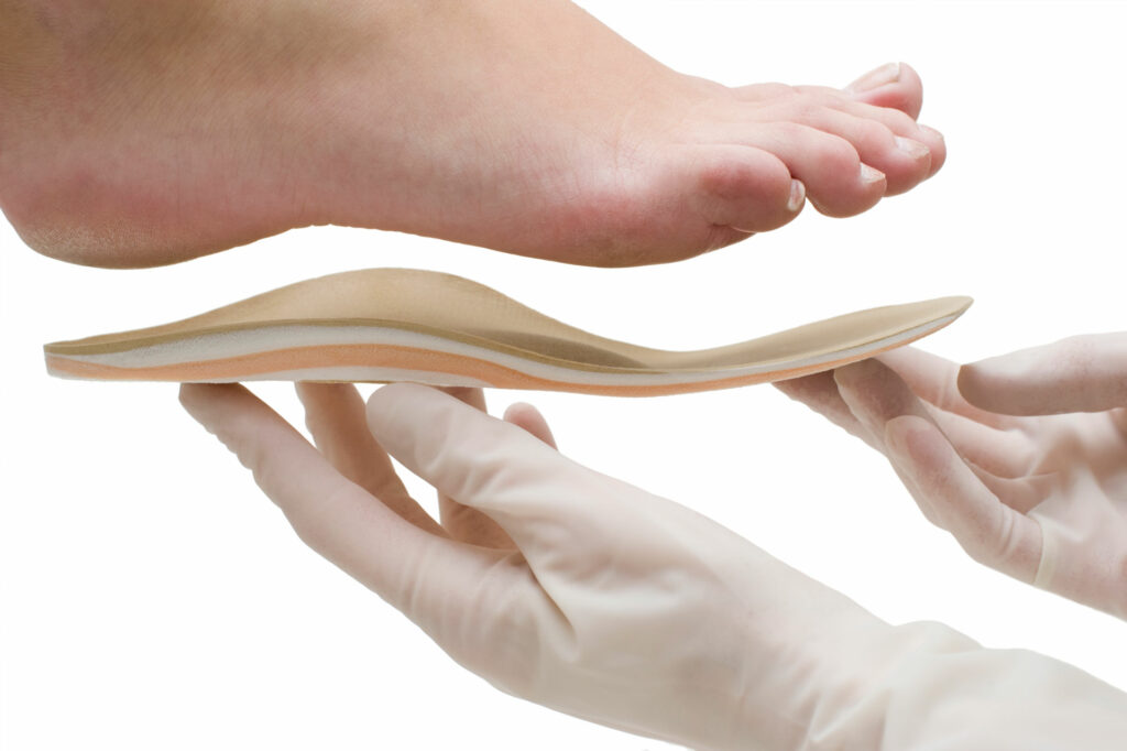 Custom Fitted Orthotics Dr. Paul Brody
